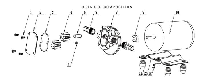 Sailflo Dc Gear Fuel Oil Pump Sailflo Pump
