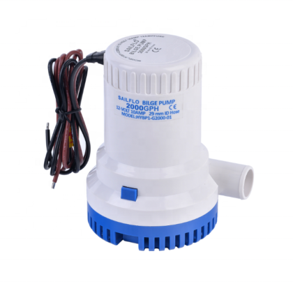Sailflo 2000GPH Non Automatic Bilge Pumps