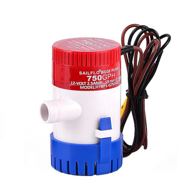 SAILFLO 750GPH marine bilge pump