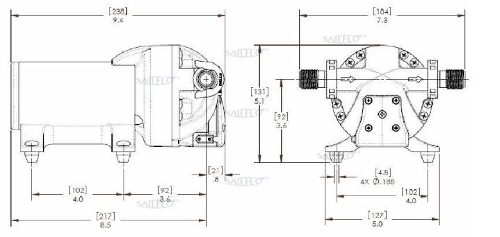 saiflo FL-200 pump