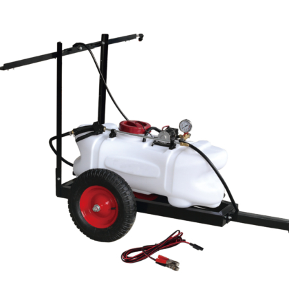 Sailflo 60L ATV Garden Weed Spot Sprayer Spray Tank Trailer 2M boom