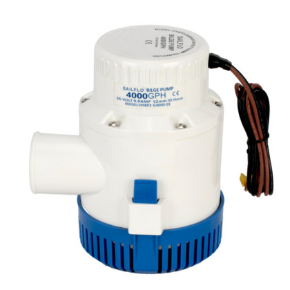 Sailflo 4000GPH Non Automatic Bilge Pumps